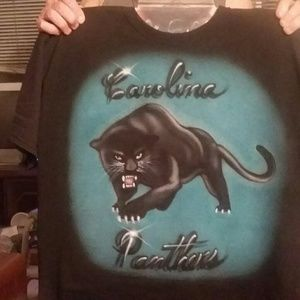PANTHER Airbrushed Tshirt Custom Made